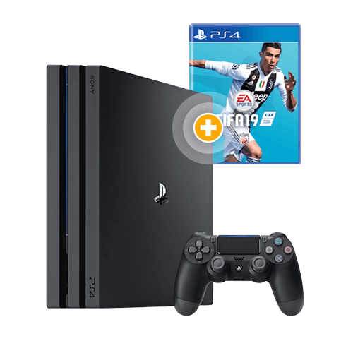 playstation 4 pro 1tb inkl fifa 19 stromfreunde. Black Bedroom Furniture Sets. Home Design Ideas